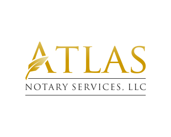 Logo design for Atlas Notary Services, LLC