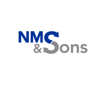 NMS & Sons logo design