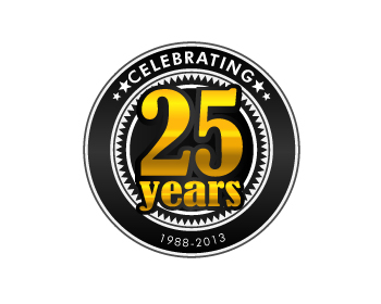 Logo Design Entry Number 16 By Rosacee88 Celebrating 25 Years Logo Contest