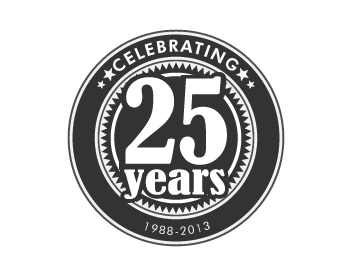 Logo Design Entry Number 18 By Rosacee88 Celebrating 25 Years Logo Contest