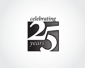 Logo Design Entry Number 44 By Celebrating 25 Years Logo Contest