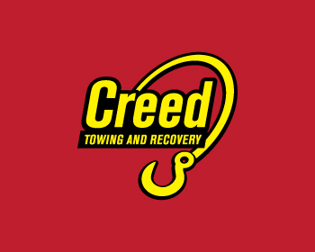 Creed Towing and  Recovery logo design