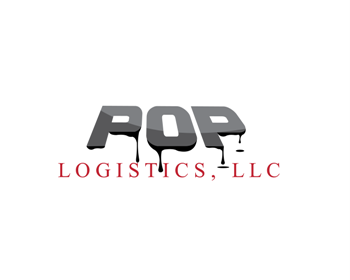 POP Logistics LLC logo design