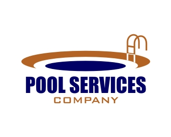 Pool services company logo design contest logo arena for Pool design services
