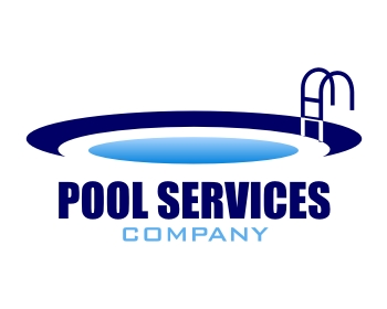 Logo design entry number 29 by 62b pool services company for Pool design company