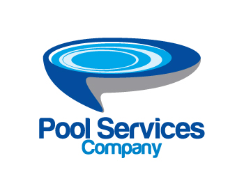 Logo design entry number 56 by applex pool services for Pool design logo