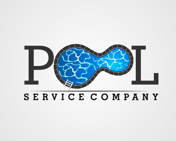 Logo design entry number 54 by masjacky pool services for Pool design company