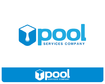 Logo design entry number 114 by mac mac pool services for Pool design logo