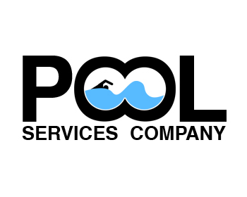 Logo design entry number 16 by serrj pool services for Pool design company polen