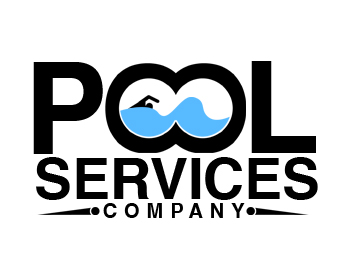 Logo design entry number 21 by serrj pool services for Pool design logo