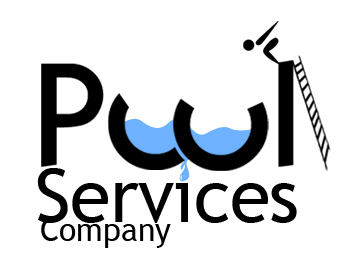 Logo design entry number 39 by serrj pool services for Pool design company polen