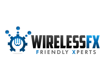 Wireless FX logo design