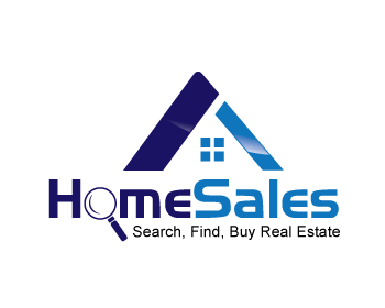 Home Sales logo design