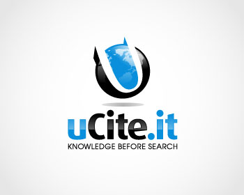 Technology logo design for uCite.it