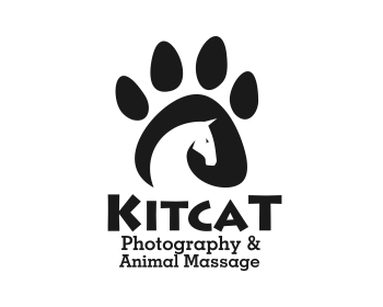 Kit Cat Photography & Animal Massage logo design