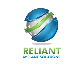 Reliant Implant Solutions, Inc. logo design