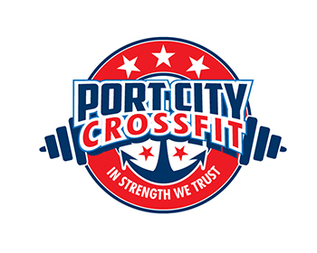 Port City CrossFit logo design