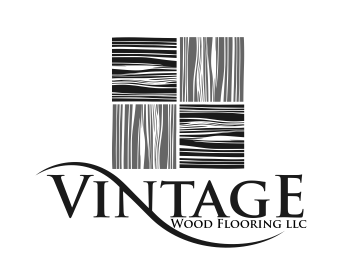 Logo Vintage Wood Flooring LLC