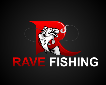 Rave Fishing logo design