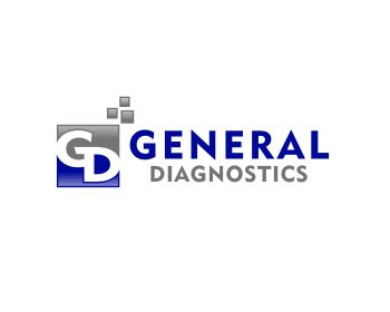 General Diagnostics logo design