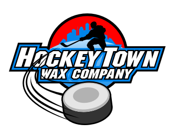 HockeyTown Wax Company logo design