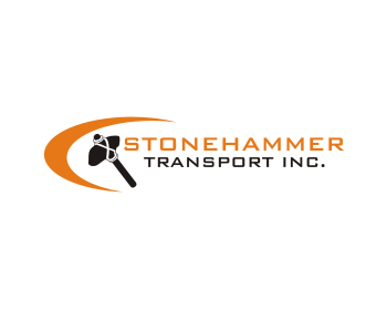 Stonehammer Transport Inc. logo design