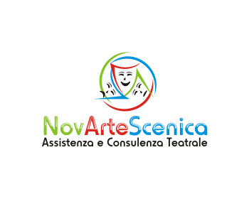 NovArteScenica logo design