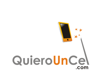 QuieroUnCel.com logo design