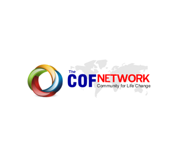 The COF Network logo design