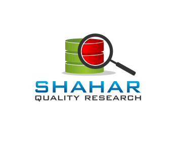 Shahar Quality Research logo design