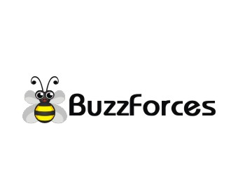 Buzzforces logo design