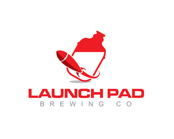 Launch Pad Brewing Co. logo design