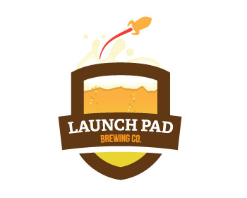 Logo design for Launch Pad Brewing Co.