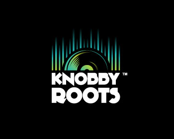 Knobby Roots logo design