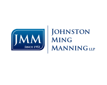 Legal logo design for Johnston Ming Manning LLP