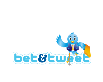 Bet & tweet logo design