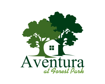 logo design entry number 4 by masjacky aventura at forest park