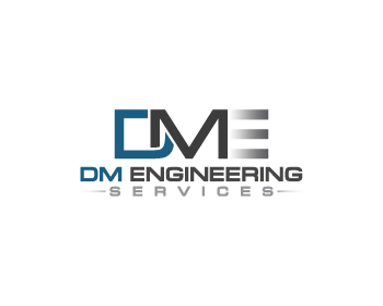 Logo design entry number 48 by mikochiong | DM Engineering Services logo contest
