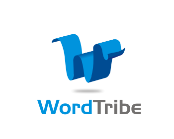 Wordtribe logo design