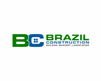 Brazil Construction logo design