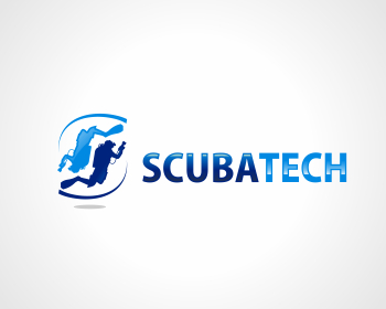 SCUBA TECH logo design