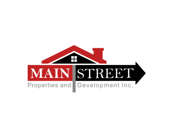 Main Street Properties and Development Inc. logo design