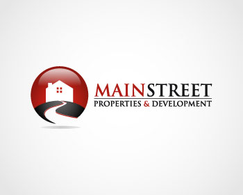 Logo design for Main Street Properties and Development Inc.