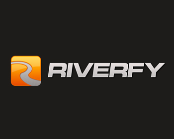 Technology logo design for Riverfy