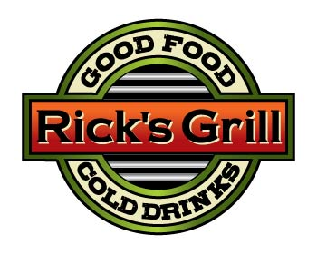 Logo design for Rick's Grill