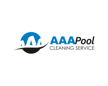 Aaa pool cleaning service logo design contest loghi di vmax for Pool design logo