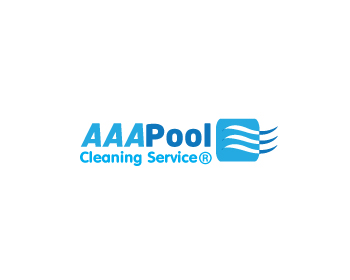 AAA Pool Cleaning Service logo design