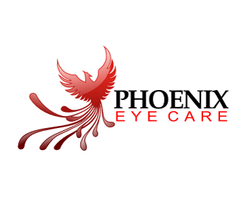 Phoenix Eye Care logo design