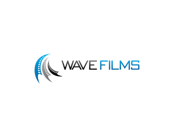 Wave Films logo design