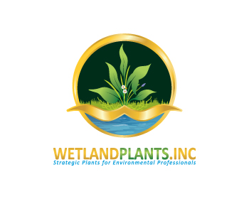 Logo design for Wetland Plants, Inc.